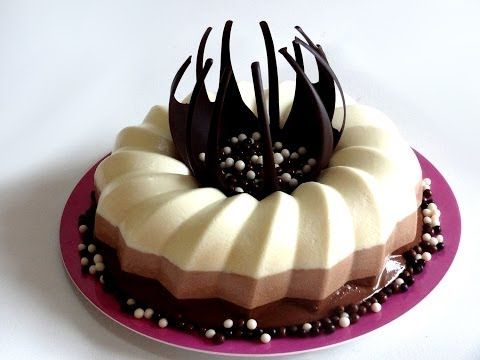 Receta: Tarta de 3 chocolates -- Fácil y rápido -- Vídeo receta (Paso a paso)
