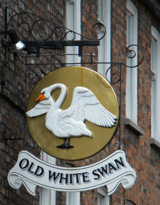 The Old White Swan is a pub on Goodramgate in York, England.