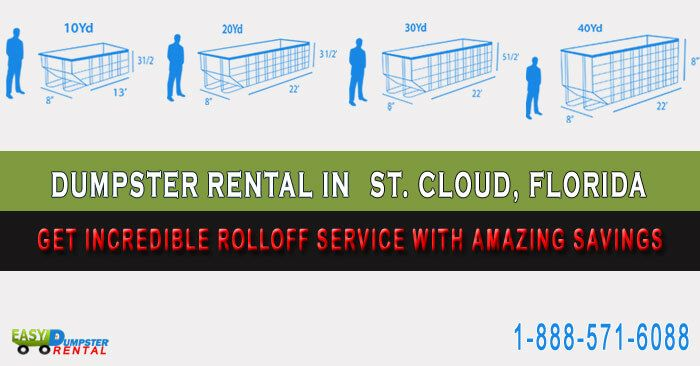St Cloud Fl At Easydumpsterrental Dumpster Rental In St Cloud Florida Get Incredible Rolloff Service With Amazing Dumpster Rental Dumpster Rent A Dumpster