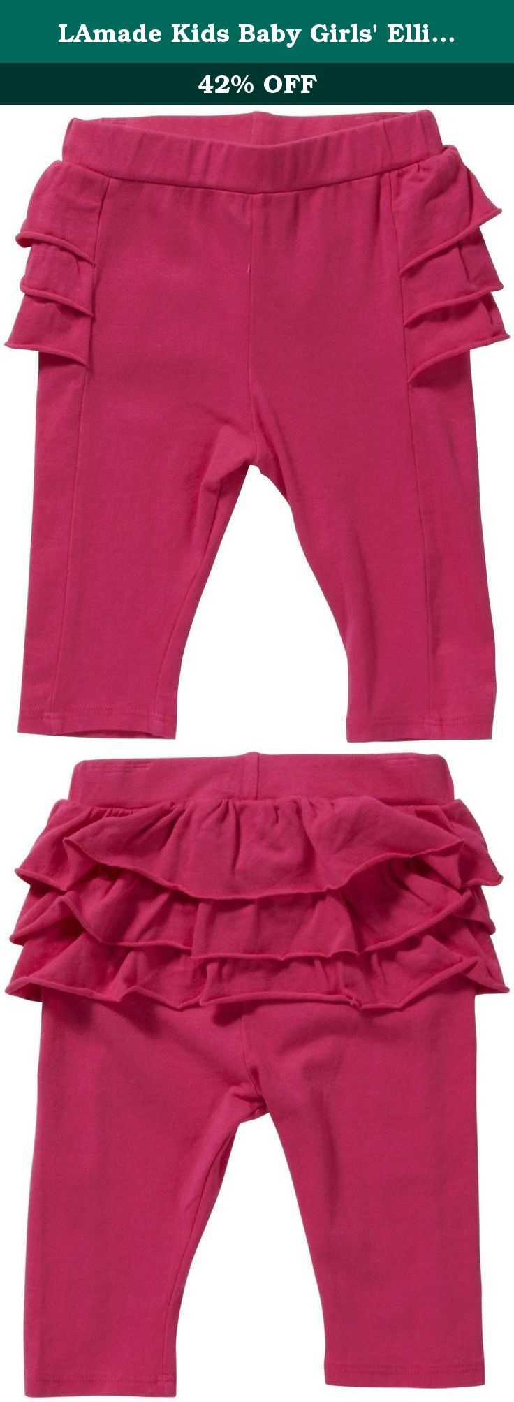 LAmade Kids Baby Girls' Ellie Skegging (Toddler/Kid) - Capri - 6-12 Months. LAmade Kids Ellie Skegging (Toddler/Kid) - Capri Update her basics with sweet and soft leggings that will keep her cozy. The LAmade Ellie Skegging features a back with cute ruffle layers. Features: long length Ruffle back.