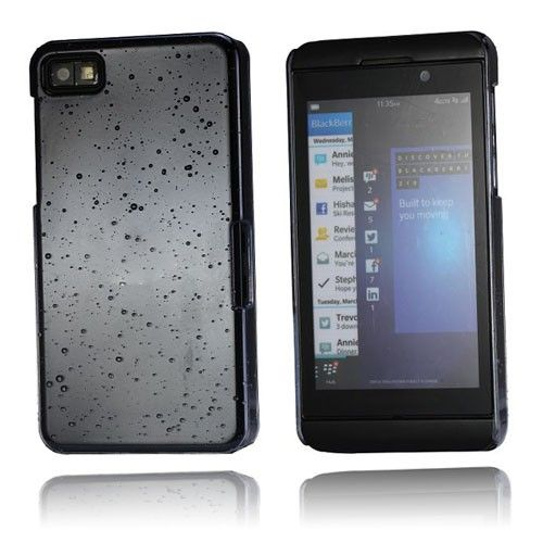 Raindrops (Grå) Blackberry Z10 Case