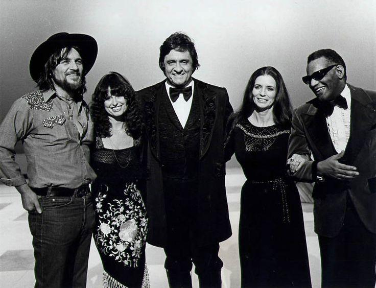 Waylon, Jessie, Johnny, June and Ray
