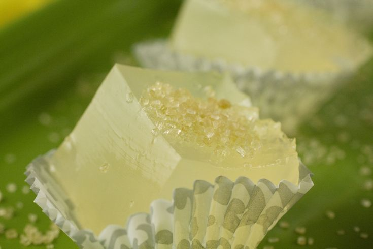 Lemon Drop Jelly Shots - Yum!  Need to try these at our next party!