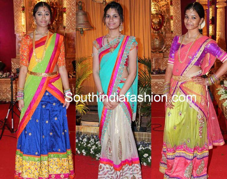 últimos diseños blusa para saris medio