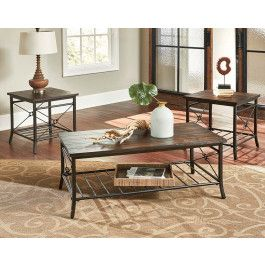 Superb Details Make The Room With This Modern, Natural Wood Ainsley Living Room  Table Set With