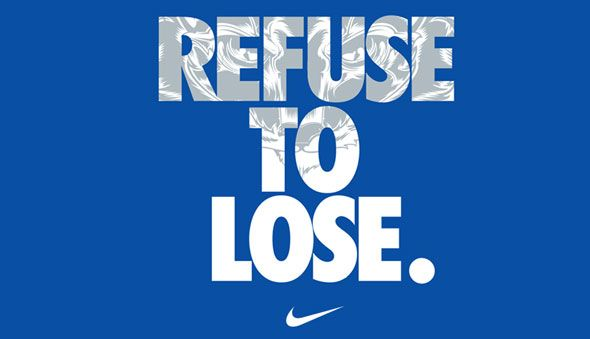 Refuse to lose. #nike #motivation #quotes