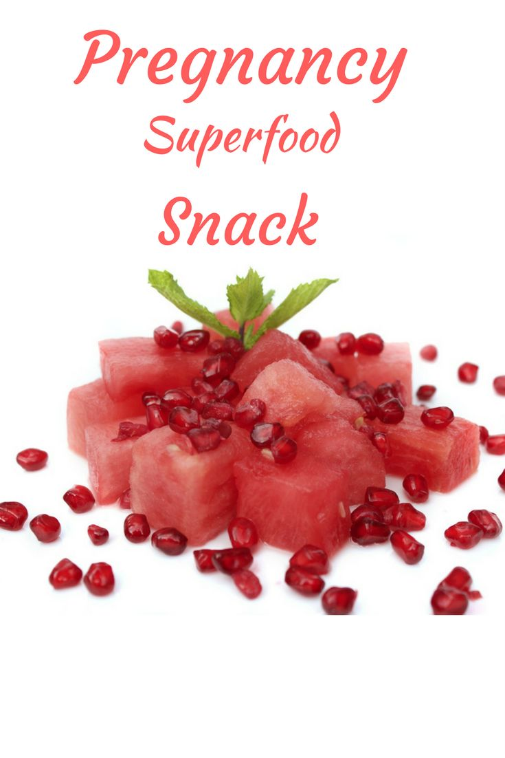Stay happy and healthy during pregnancy by eating the right kind of snacks