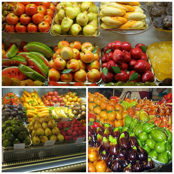 Marzipan Fruits / best in the world