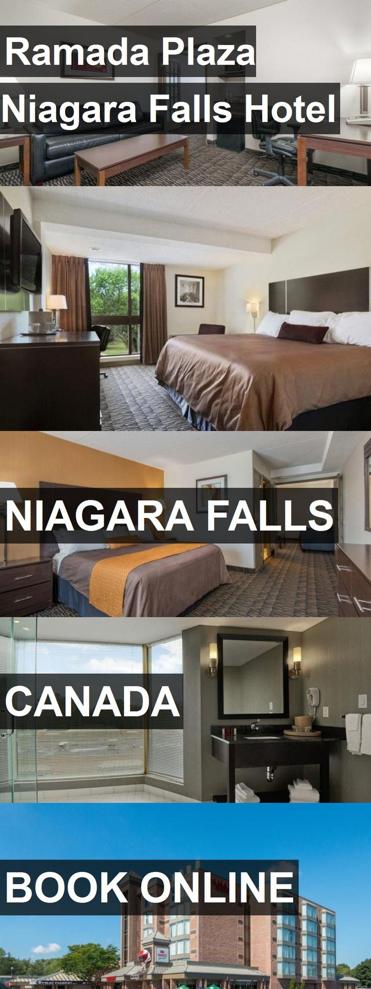 Ramada Plaza Niagara Falls Hotel in Niagara Falls, Canada. For more information, photos, reviews and best prices please follow the link. #Canada #NiagaraFalls #travel #vacation #hotel