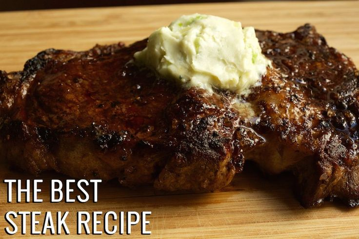Want to know how to make the best steak ever, just like your favorite steakhouse? This recipe is it! Perfectly cooked tender steak with blue cheese butter.