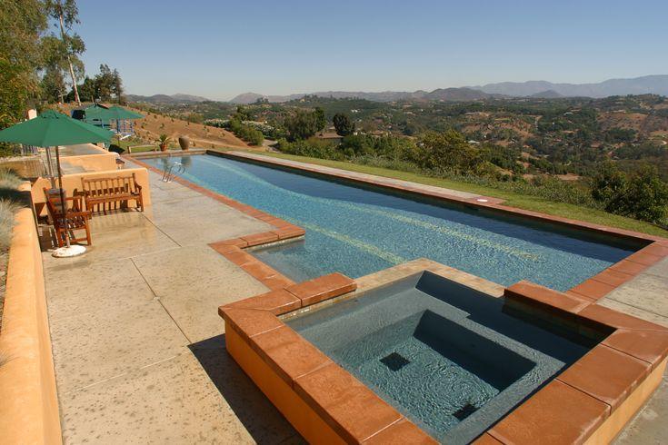 100 best spa images on pinterest for Pool design orange county