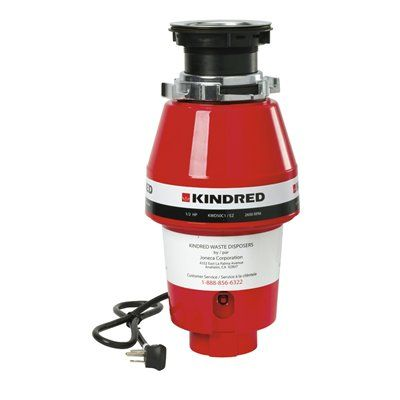 Kindred KWD50C1/EZ Continuous Feed Food Waste Disposer