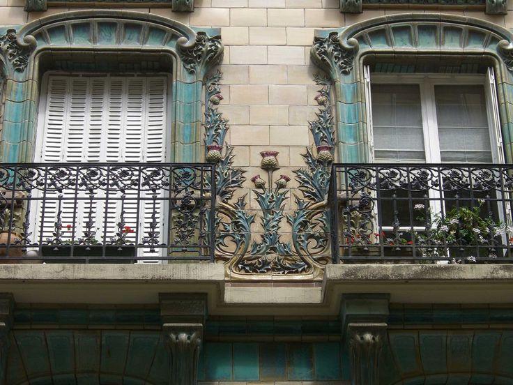 PeritoBurrito   Парижская архитектура ар-нуво: история любви и страсти