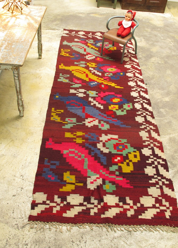 Roumanian carpet - love!