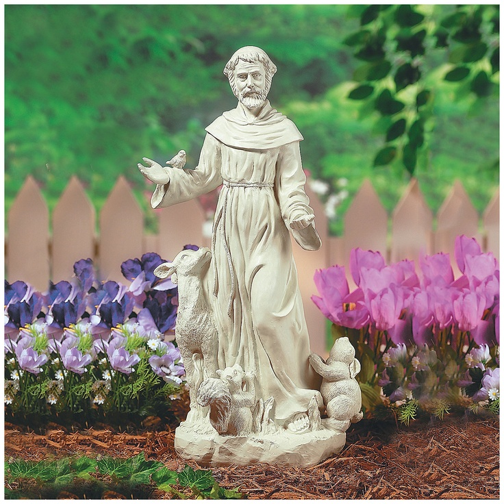 17 Best Images About St Francis On Pinterest Gardens Sculpture And Garden Statues
