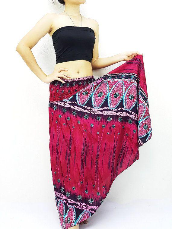 Women Maxi Dress Gypsy Dress Skirt Rayon Dress #clothing #women #skirt @EtsyMktgTool http://etsy.me/2yiVgiK #clothing #dresses #skirts