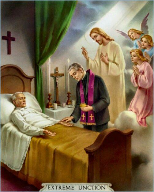 Last rites sacrament picture