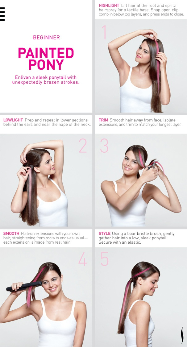 #PaintedPony HairHowTo Sephora