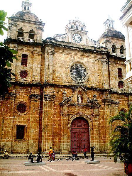 Colombia - Iglesia de San Pedro Claver, Cartagena, Bolivar.