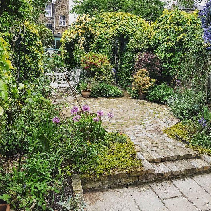 Magical garden in Hackney.