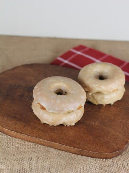 If you love maple bars you will love these gluten free maple bar doughnuts. They are easy to make and are so good.