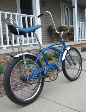 My Schwin Sting-Ray bicycle.  I road it everywhere!