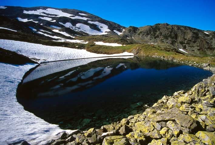 Lacul Înghețat, Munții Parâng