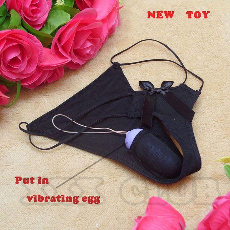 แฮนด์ฟรีเซ็กซี่วางบนสั่นกางเกงชุดชั้นในเซ็กซี่สั่นไข่T Hongsชุดชั้นใน'จีสตริงกางเกงของเล่นสำหรับผู้หญิง
