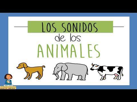 Los sonidos de los animales - Juego educativo para niños - YouTube