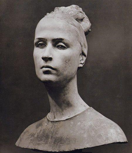 Francesco Messina - Ritratto della mogle Bianca