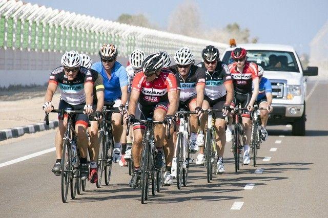 #Beginners are advised to ride in groups  #CycleToWorkUAE