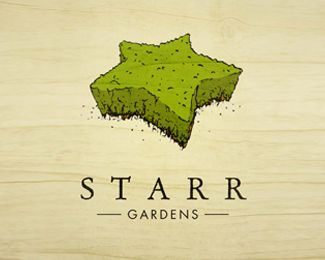 Starr Gardens Logo Design