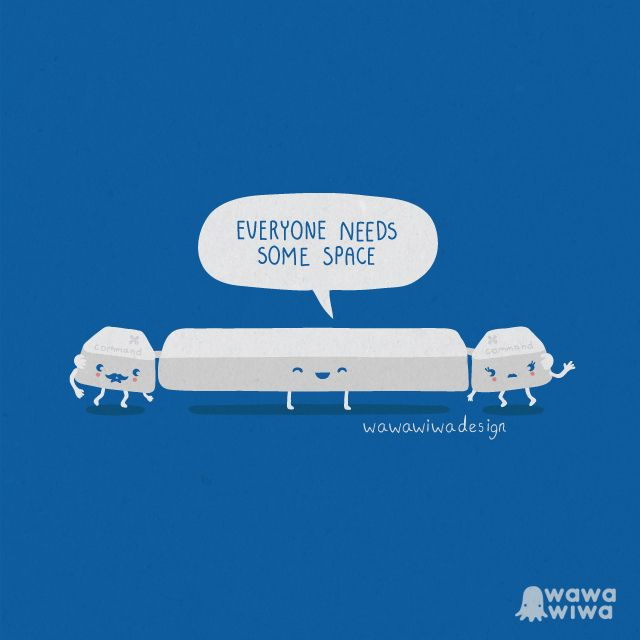 Everyone Needs Some Space by Wawawiwa design, via Flickr