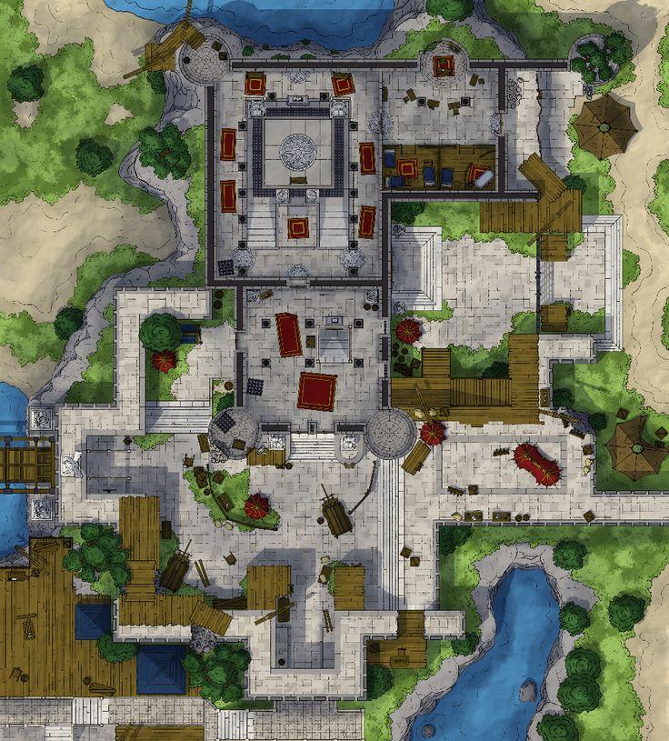TavernTales Divinity Original Sin 2 Battle Maps in 2020