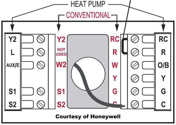 Honeywell Thermostat Wiring Instructions Diy House Help Thermostat Wiring Honeywell Thermostats Thermostat Installation