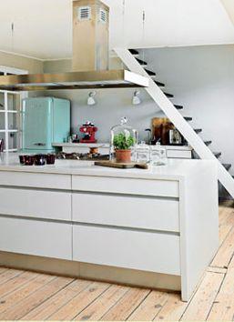 25 drømmekøkkener - 25. Køkken på en hel etage