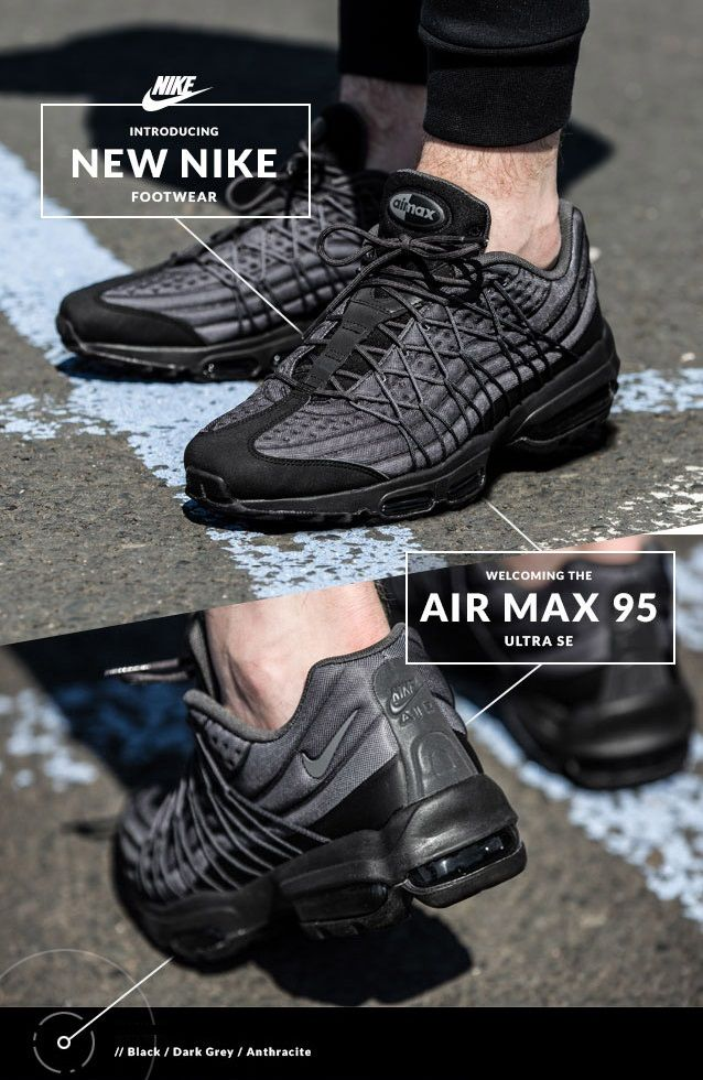 superior quality f4d9d 27242 Nike Air Max 95 Ultra SE   Shoes To Adore in 2019   Nike shoes, Sneakers  nike, Nike elite socks
