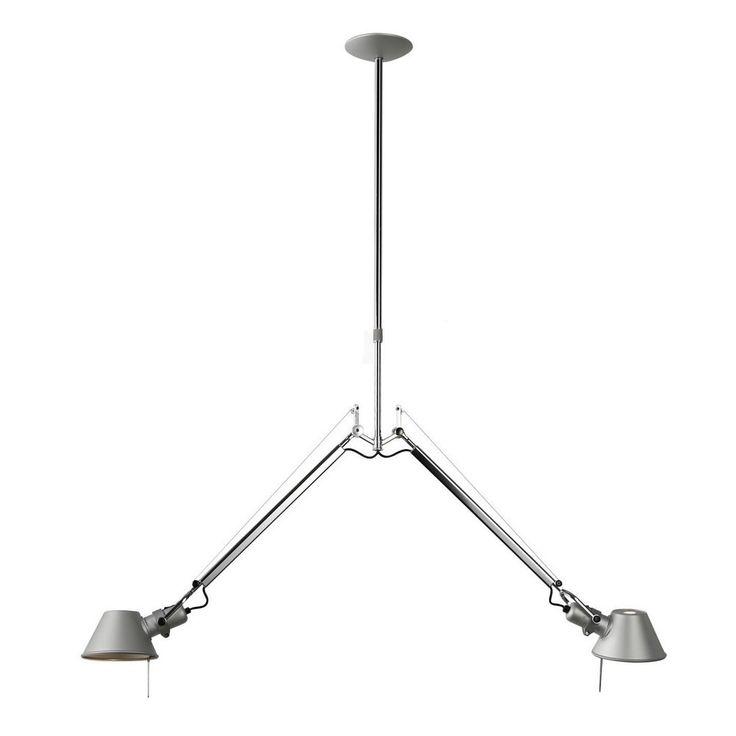 Artemide Tolomeo Sospensione Due Bracci Aluminium Hanglamp Kopen?