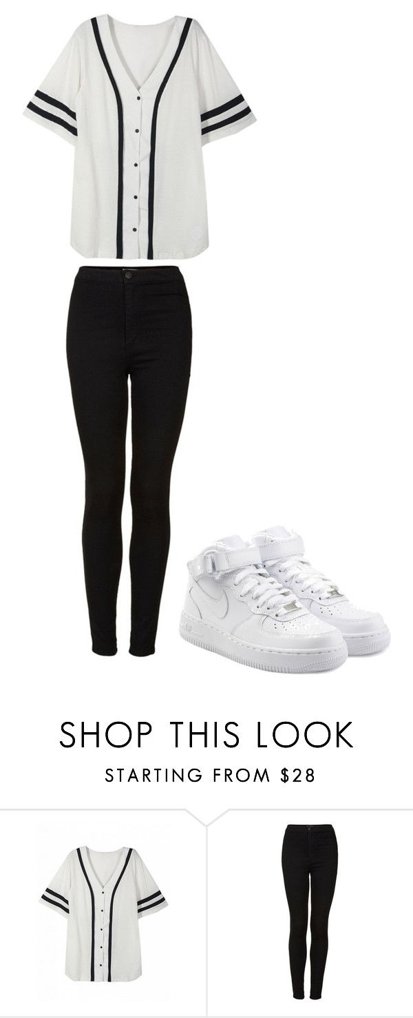 """Layed Backed"" by renee-9392 on Polyvore featuring Topshop and NIKE"