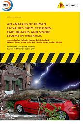 An analysis of human fatalities from cyclones, earthquakes and severe storms in Australia