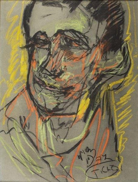 Portret mezczyzny 1927 Stanislaw Ignacy Witkiewicz