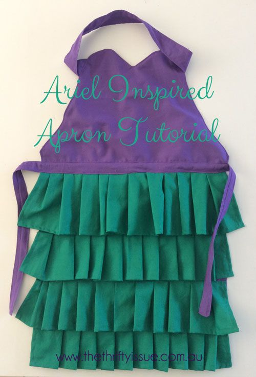 My daughter was invited to a Little Mermaid party a few weeks ago and the birthday girl loves to cook so we decided to make her a special apron inspired by Ariel. It was fairly simple to make and looked stunning when finished. I want to make one for myself! What you need: Purple fabric ... [Read more...]