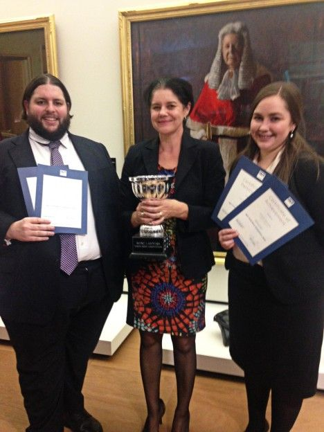 Griffith law students have taken out the QUT Torts Moot competition for the first time, successfully arguing a medical negligence case.