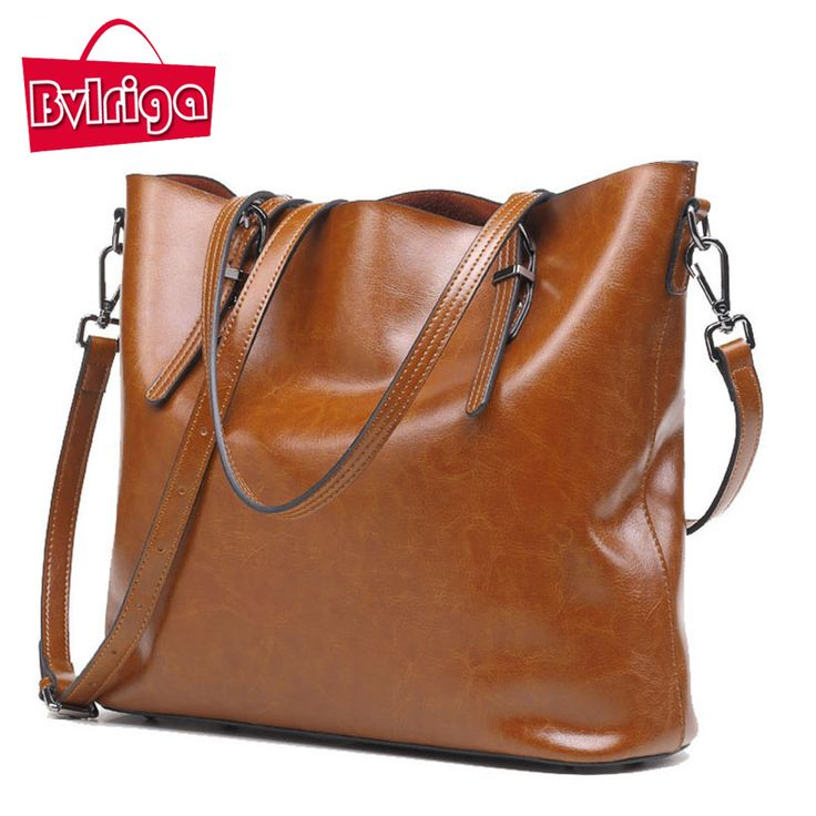 Genuine Leather Bag Women Messenger Bags Big Tote Luxury Handbags Women Bags Designer Shoulder Bags Famous Brands Bolsosa //Price: $86.85 & FREE Shipping //     #freeshipping
