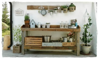 Would like to have this outside for BBQ table! DIY