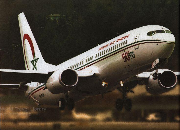 https://flic.kr/p/Tg2iD7   Royal Air Maroc, Where Africa Begins; 2014_3, Boeing B737-800