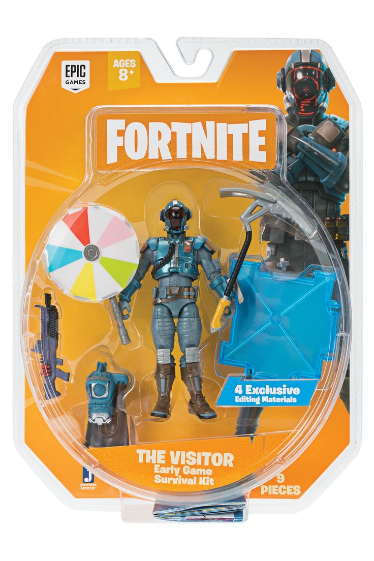 Buy Fortnite Early Game Survival Kit Figure in 2020 Game