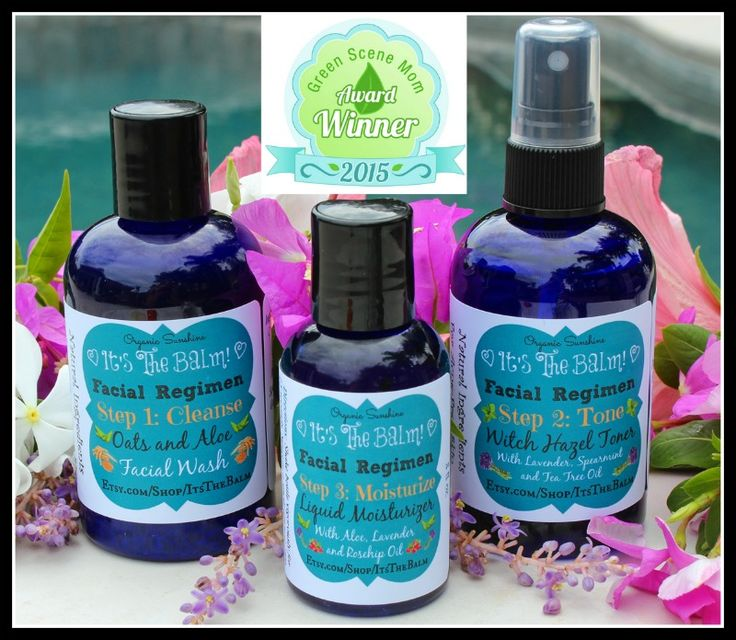 It's the Balm is a family-owned company that offers natural, Eco-friendly, handmade bath and beauty products. This luxurious Natural Facial Regimen won an award from Green Scene Mom, recognizing Eco-friendly innovation.