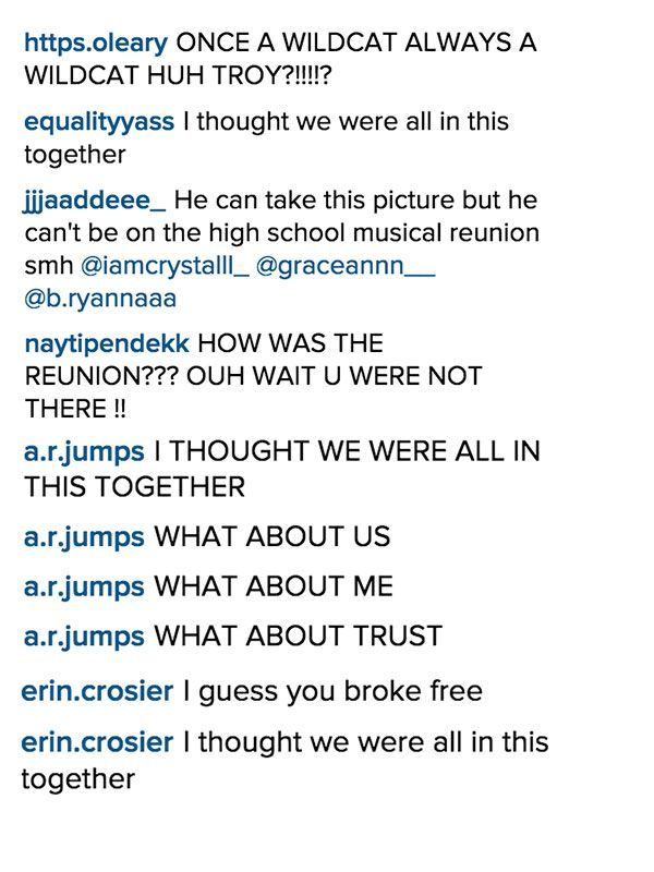 11 Hilarious Reactions To Zac Efron's Absence From The 'High School Musical' Reunion