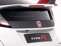 Honda Civic Type R Carbon Fibre Tailgate Decoration 2015 - 08F52-TV8-600B